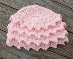 Shabby Chic Baby Blossom Hat By SarahSweethearts - Free Crochet Pattern - (ravelry)
