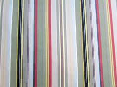 Large Square Tablecloth Sporty Stripe