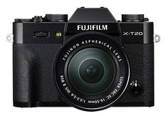 Fujifilm Mirrorless Digital Camera with XC OIS II Lens, Black Kw - black fujifilm minis black fujifilm polaroid cameras black fujifilm products black fujifilm fuji instax black fujifilm film black fujifilm urban outfitters black fujifilm photography Fujifilm Xt20, Fujifilm Polaroid, Polaroid Cameras, Bluetooth, Canon, Photographic Film, Exposure Compensation, Photography Camera, Lcd Monitor