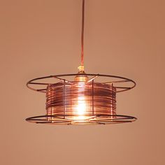 SPOOL: welding spool pendant by Tolhuijs | Please subscribe to my weekly newsletter at upcycledzine.com !#upcycle