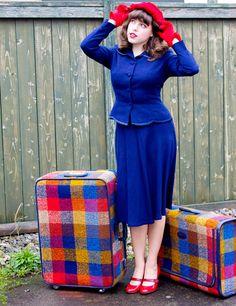 Vintage Skyway Plaid Tweed Luggage Suitcase | ViNtAgE | Pinterest ...