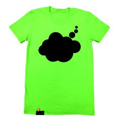 Chalkboard tee that you can write on could be really fun to use to promote sales  Fab.com | Think Chalk Tee Women's