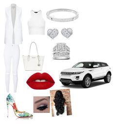 """White all day"" by imayababy ❤ liked on Polyvore featuring Christian Louboutin, New Look, River Island, Topshop, MICHAEL Michael Kors, Michael Kors, Kobelli and Lime Crime"