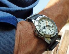 Rolex Explorer on NATO strap #rolex #watches