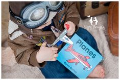 Vintage Pilot First Birthday