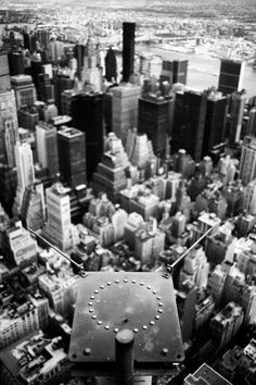 From the Empire State, #NYC, #Leica M9, #Summilux M 35mm f1.4 asph., Black and White