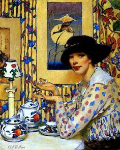 Raymond Perry Rogers Neilson, Woman with Beads