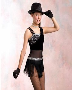 New ALL THAT JAZZ Tap Dance Costume Child M & XS avail.