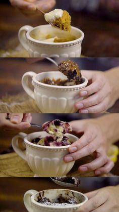 Easy, fast and tasty, these 4 individual desserts will make you a chef faciles gourmet de cocina de postres faciles pasta saludables vegetarianas Individual Desserts, Sweet Desserts, Sweet Recipes, Dessert Recipes, Yummy Food, Tasty, Pastry And Bakery, Le Chef, Creative Food