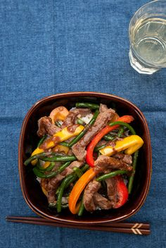 Beef and Garlic Scape Stir-fry | Recipe | Beef, Garlic and Stir Fry