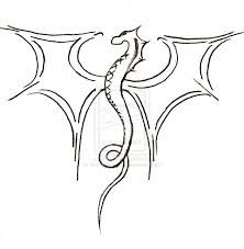 Image result for simple dragons to draw