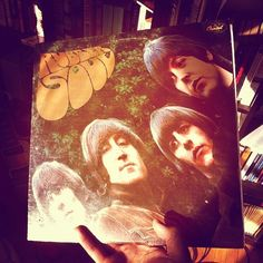 Pancakes with #TheBeatles #RubberSoul #vinyl
