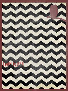 Twin Peaks - Affiche par Rémy Baudequin