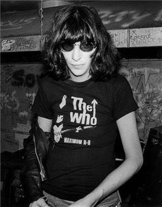 Joey Ramone wearing The Who