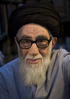 Old Religious Man Inside The Old Bazaar, Tabriz, Iran by Eric Lafforgue, via Flickr