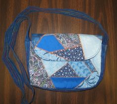 Patty made a purse from Talei's class.