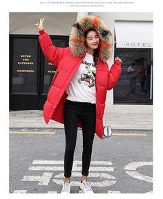 13821aad7c2 2018 winter Hooded Parka feminino Coat plus size Long – Hapqeelin.com  Winter Coats Women