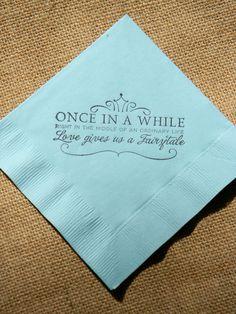 napkin (Paradise bar)