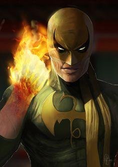 Iron Fist by Jesús Gonzalo Marvel Comics Art, Marvel Heroes, Marvel Characters, Captain Marvel, Psylocke, Comics Universe, Marvel Cinematic Universe, Comic Books Art, Comic Art