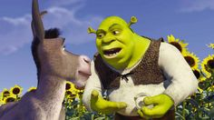 It ain't easy bein' green -- especially if you're a likable (albeit smelly) ogre named Shrek. On a mission to retrieve a gorgeous princess from the clutches of a fire-breathing dragon, Shrek teams up with an unlikely compatriot -- a wisecracking donkey. Kid Movies, Movies And Tv Shows, Movie Tv, Disney Movies, Disney Pics, Eddie Murphy, Dreamworks Animation, Shrek Dreamworks, Animation Movies