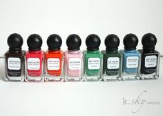 Round Two: Remaining Revlon Parfumerie Scented Nail Polish Collection: Review & Swatches