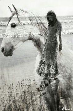 Double Exposure Photography, Art Photography, Secret And Whisper, Restless Soul, Second World, Love And Light, Healer, Digital Art, Horses