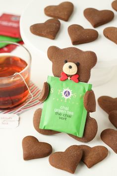 Tea Loving Gingerbread Bears | Thirsty For Tea