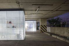 All(zone) Light House provides temporary shelter in abandoned buildings