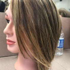 """Did a partial highlight using joico's """"The Blonde Life"""" yesterday. Very happy with the result. ....I also gave this """"client"""" a stacked haircut. She's looking a lot better now than she was before!��#chicosmetology #chi #icheated #joico #joicoblondelife #joicoforthewin #parialhighlights #highlights #beauty #hairstyles #haircuts #cosmetology http://tipsrazzi.com/ipost/1507622762666133577/?code=BTsJuo4AghJ"""