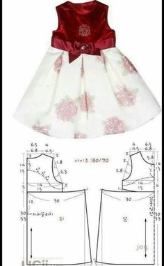 Baby Girl Dress Patterns Baby Clothes Patterns Love Sewing Baby Sewing Sewing For Kids Little Girl Outfits Kids Outfits Frock Design Sewing Clothes Little girls dresses - Pattern with measurements in cm A selection of children& models . Baby Girl Dress Patterns, Baby Clothes Patterns, Dress Sewing Patterns, Little Girl Dresses, Clothing Patterns, Girls Dresses, Pattern Sewing, Pattern Art, Fashion Kids