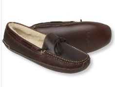 Bison Double Sole Slipper Shearling Lined Men's  $79.00