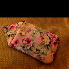 DIY. iPhone case or purse with a pretty floral fabric.