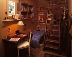 I chose this picture because it is a guess of what Peter's room would have looked like. It was his own little space and I think he cared for it a lot.