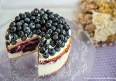 Blaubeer-Quark-Torte mit tierischem Hightlight http://www.geschmacks-sinn.de/?p=2254