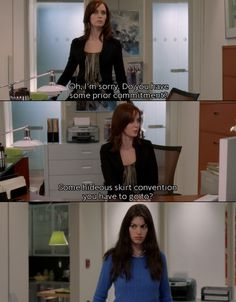 Now I want to watch the devil wears Prada lol Funny Movies, Great Movies, Movies Showing, Movies And Tv Shows, Submarine Movie, Favorite Movie Quotes, Devil Wears Prada, Chick Flicks, Movie Lines