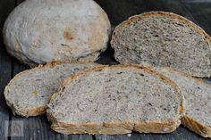 Paine neagra de secara cu seminte - CAIETUL CU RETETE Keto, Banana Bread, Cooking, Desserts, Food, Home, Meal, Kochen, Deserts