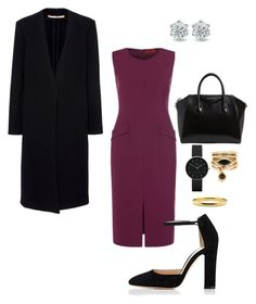 """""""Work"""" by cgraham1 on Polyvore featuring Gianvito Rossi, Givenchy, Newgate and Eddie Borgo"""