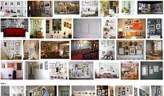 wall frame arrangements