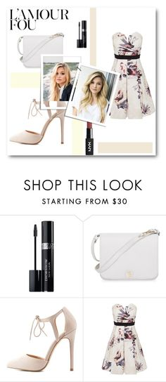 """""""Sans titre #818"""" by tva-lpz ❤ liked on Polyvore featuring Christian Dior, Furla, Charlotte Russe and Little Mistress"""
