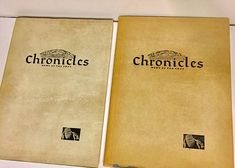 2 Vintage Books/newspaper Jerusalem Chronicles News of the
