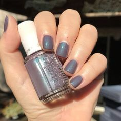 My weekend mani is essiepolish Coat Couture with top coathellip