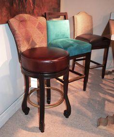 Modern Rustic Dining stool gallery