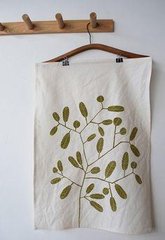 .tea towel - good way to