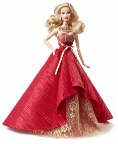 Holiday Barbie Doll 2014