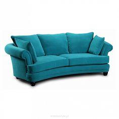 Sofa Mozart Curved 2os skóra, eko-skóra, tkanina
