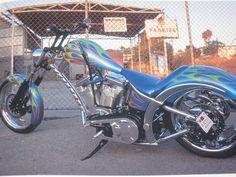 El Diablo Sturgis Special Custom Choppers, Custom Harleys, Custom Bikes, West Coast Choppers, Bobber Chopper, Jesse James, Cool Motorcycles, Bike Art, Classic Bikes