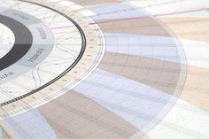 A Beautiful, Incredibly Detailed Radial Calendar
