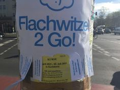 Flachwitze to go on http://www.drlima.net
