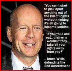 Bruce Willis on the Bill Of Rights/Constitution