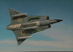 October 25, 1955: First flight of the Saab 35 Draken